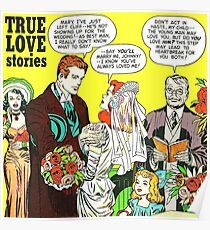1948 Young Romance 6 cover by Jack Kirby Poster