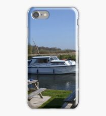 Norfolk Broads Cruiser iPhone Case/Skin