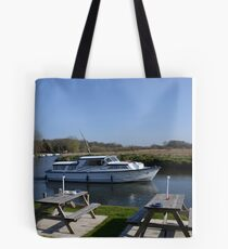 Norfolk Broads Cruiser Tote Bag