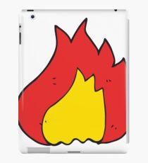 cartoon flame iPad Case/Skin