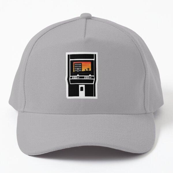 Videogame Shilouetthe Baseball Cap
