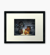 Cold paws Framed Print