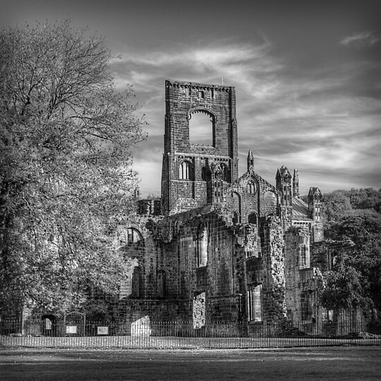 Kirkstall Abbey Mono by Colin Metcalf