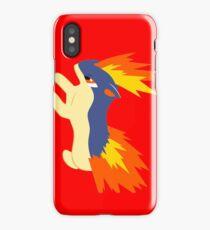 Quilava (pokemon) iPhone Case