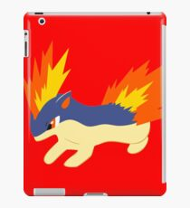Quilava (pokemon) iPad Case/Skin