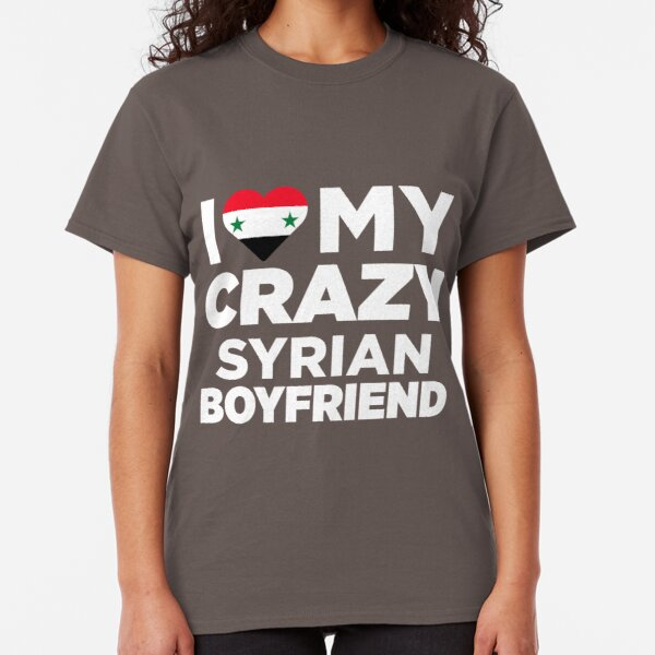 I Love Heart Syria Pink Kids T-Shirt