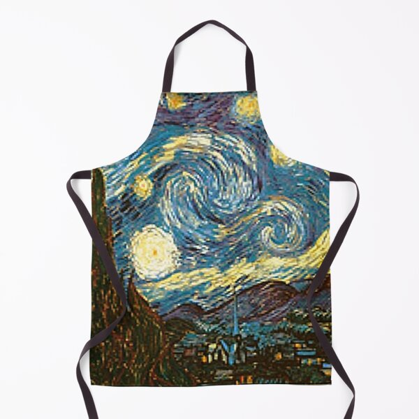 Vincent Van Gogh's Starry Night - An Icon of Modern Art Apron