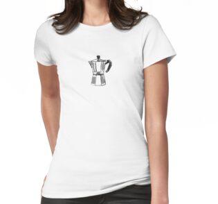 ff457c46 Moka Pot doodle T-shirt. Limited edition design!