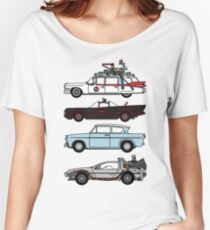 Iconic movie cars Women's Relaxed Fit T-Shirt