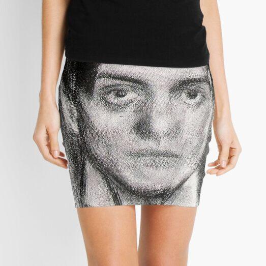Pablo Picasso SELF POTRAIT 1900 Mini Skirt