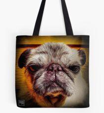 Grumpy Pug Tote Bag