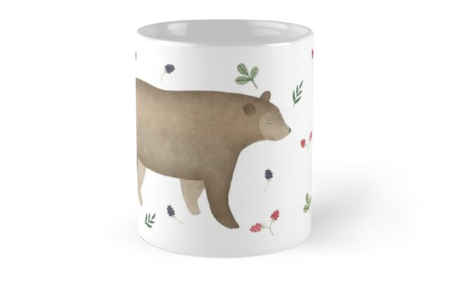 Mug with a bear by Oksana Tarasova