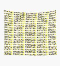 Radical print Wall Tapestry