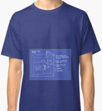 Looney Tunes Blueprint Classic T-Shirt