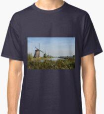 The windmills of Kinderdijk Classic T-Shirt
