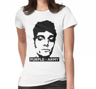T-Shirt Purple Army Jersey