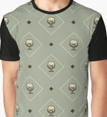Liquor Pattern - Icon Prints: Drinks Series Graphic T-Shirt
