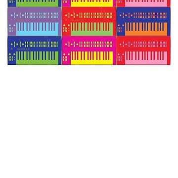 Pop Art Synthesizers by retrorebirth