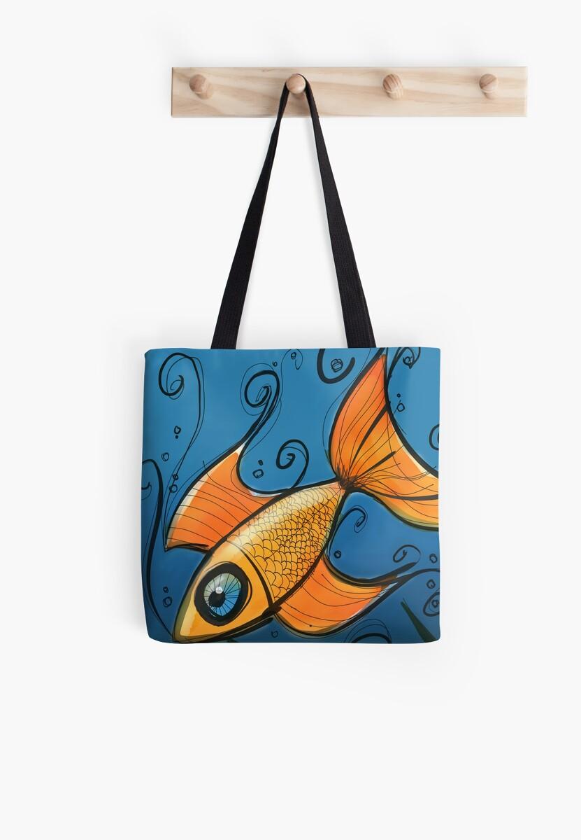 Orange Fish by Titus Ruiz