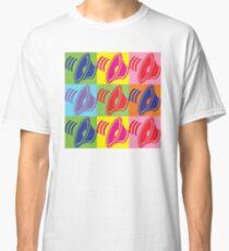 Pop Art Speaker Cones Classic T-Shirt