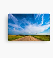 Country Roads III Canvas Print