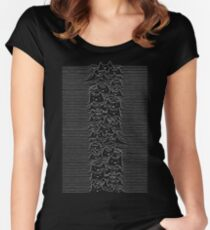 Joy Division Unknown Pleasures Women's Fitted Scoop T-Shirt