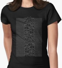 Joy Division Unknown Pleasures Women's Fitted T-Shirt