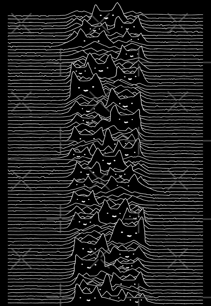 Joy Division Unknown Pleasures by tobiasfonseca