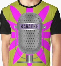 Karaoke Phone Graphic T-Shirt