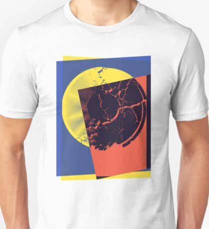 Pop Art Record Shattered T-Shirt