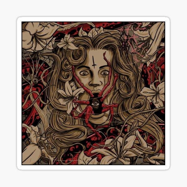 Autumn Arachnophobia Sticker