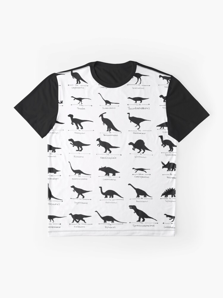 Alternate view of Whats Your Favourite Dinosaur? Graphic T-Shirt