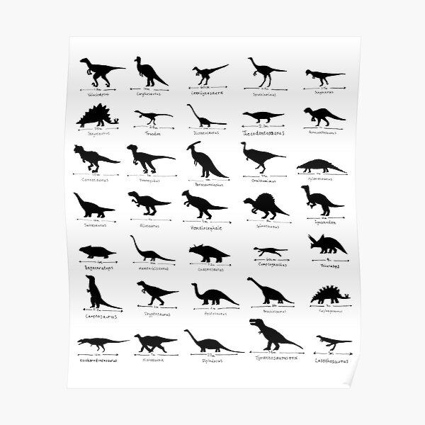 ¿Cuál es tu dinosaurio favorito? Póster