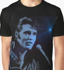 The KING Rocks On Graphic T-Shirt