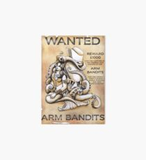 Arm Bandits Art Board