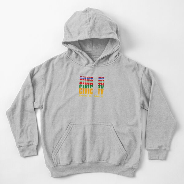 Channel 83  Cable 12 Kids Pullover Hoodie