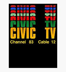 Channel 83  Cable 12 Photographic Print