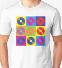 Pop Art Vinyl Records T-Shirt