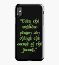 Even the smallest person iPhone Case/Skin