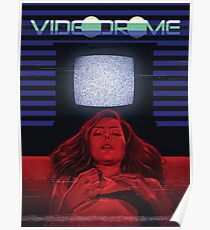 Girl and TV Poster