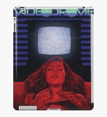 Girl and TV iPad Case/Skin