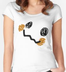 Mimikyu Face Women's Fitted Scoop T-Shirt
