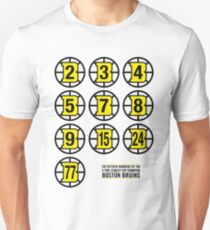 Retired Numbers - Boston Bruins T-Shirt
