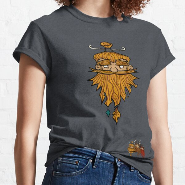 Sweet Nordic Blond Viking and brothers Classic T-Shirt