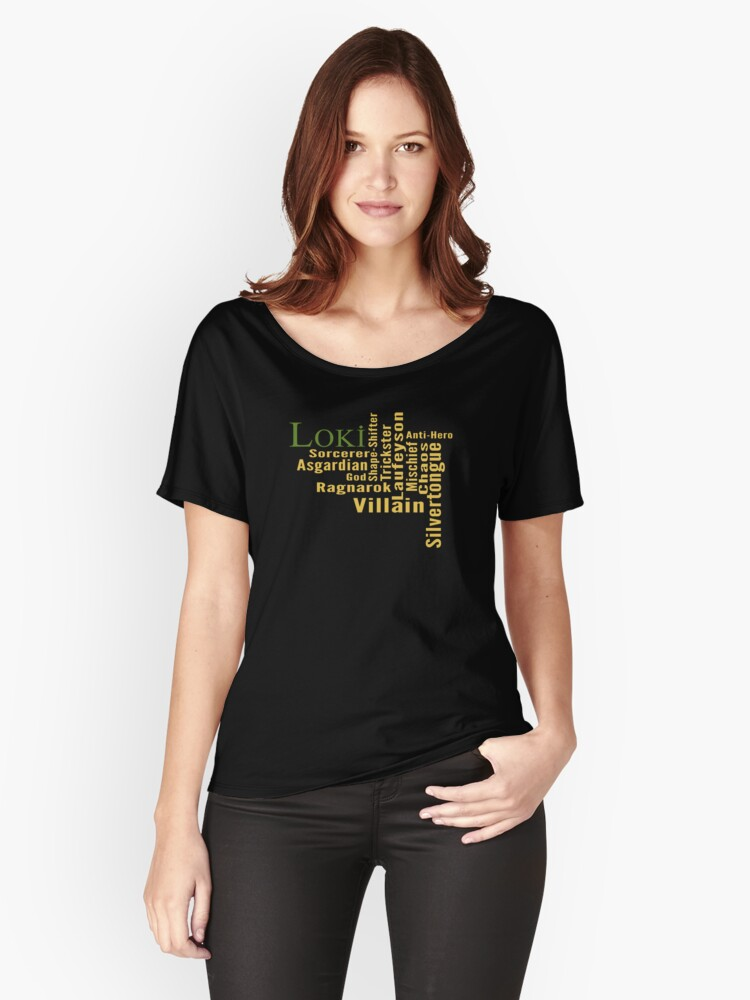 Who is Loki? Women's Relaxed Fit T-Shirt Front