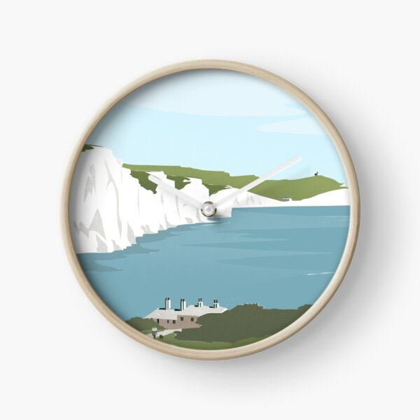 Seven Sisters and Coastguard Cottages Clock