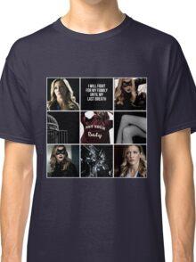 Laurel Lance/Black Canary aesthetic Classic T-Shirt