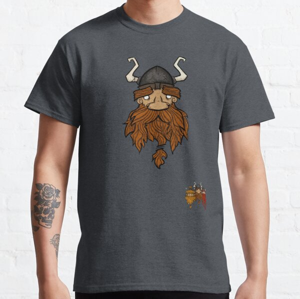 Sweet Nordic Brown Viking and brothers Classic T-Shirt