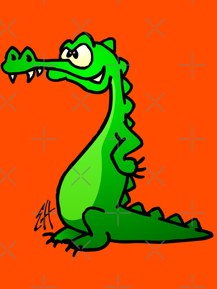 Crocodile by cardvibes