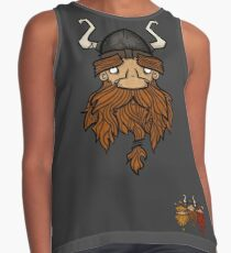Sweet Nordic Brown Viking and brothers Contrast Tank